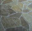 flagstone stamped concrete design