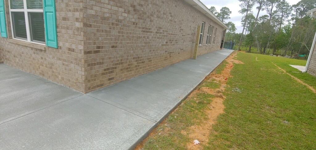 concrete sidewalk houston